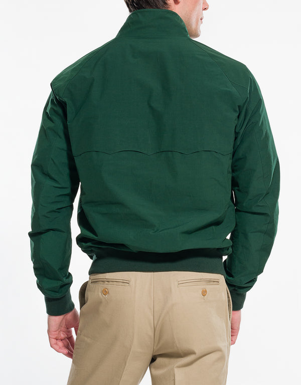 BARACUTA G9 HARRINGTON JACKET - RACING GREEN