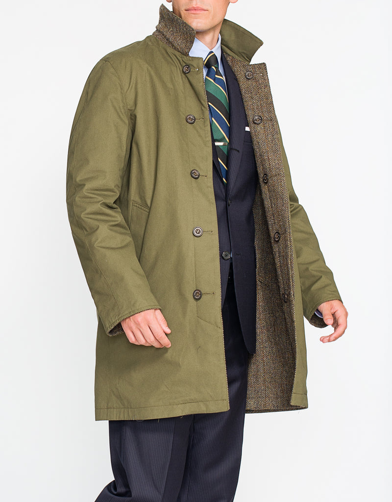 OLIVE HARRIS REVERSIBLE COAT - SHORT