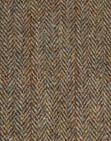 Brown Olive Herringbone Topcoat