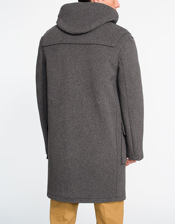 GREY DUFFLE COAT