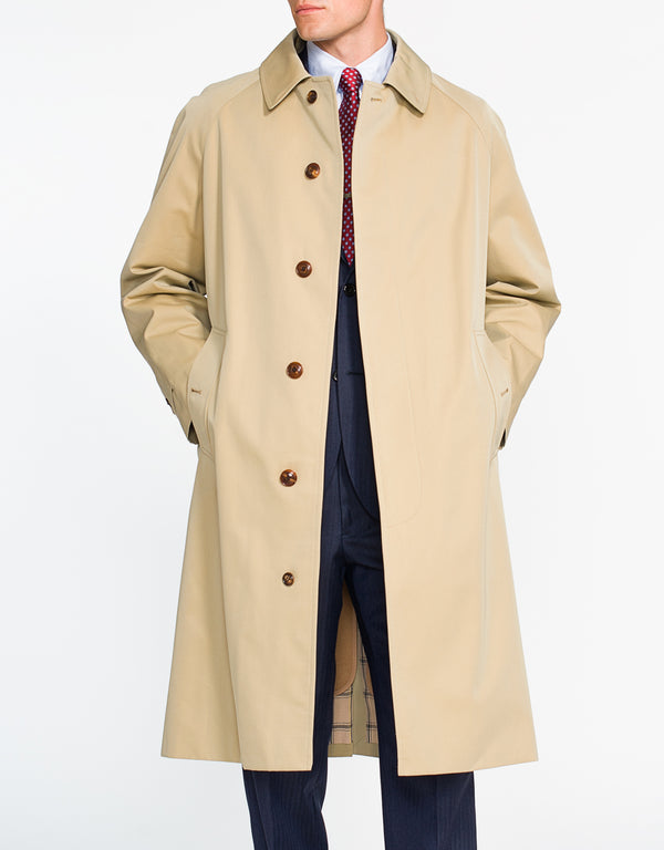 Spencer Rain Coat Tan