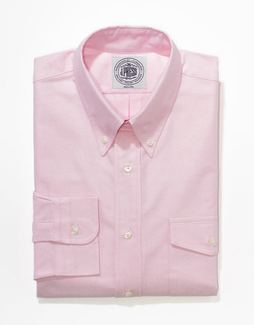 PINK OXFORD WITH FLAP POCKET