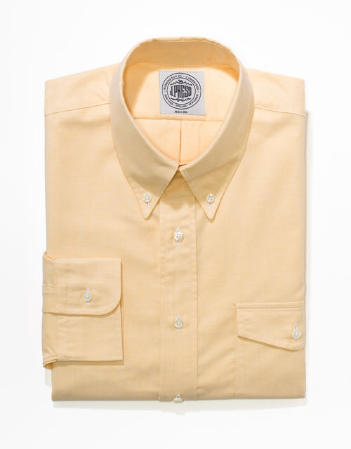 YELLOW OXFORD W/FLAP POCKET