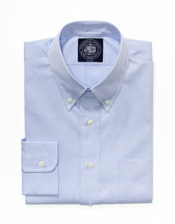 BLUE PINPOINT DRESS SHIRT - TRIM FIT