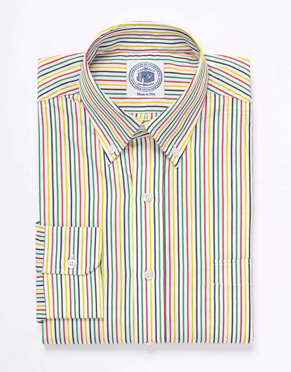 STRIPE SPORT SHIRT - MULTI
