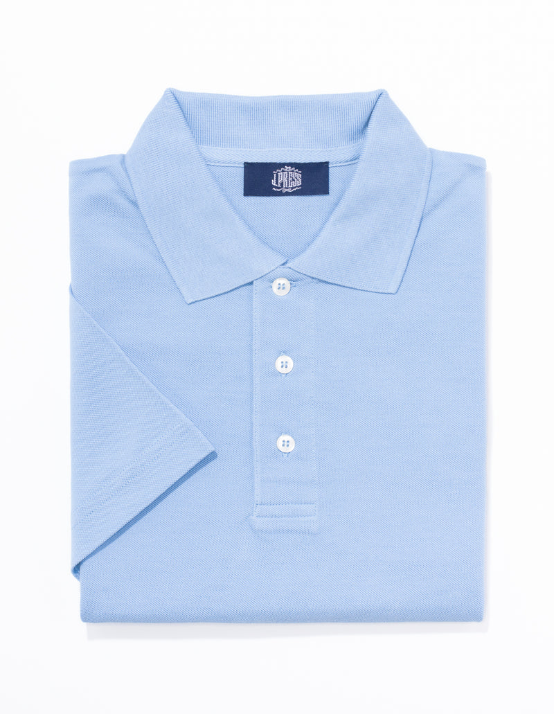POLO SOLID SHIRT - LIGHT BLUE