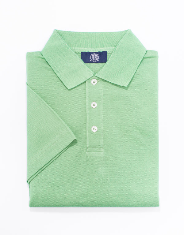 POLO SOLID SHIRT - LIGHT GREEN