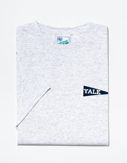 J. PRESS GREY YALE T-SHIRT