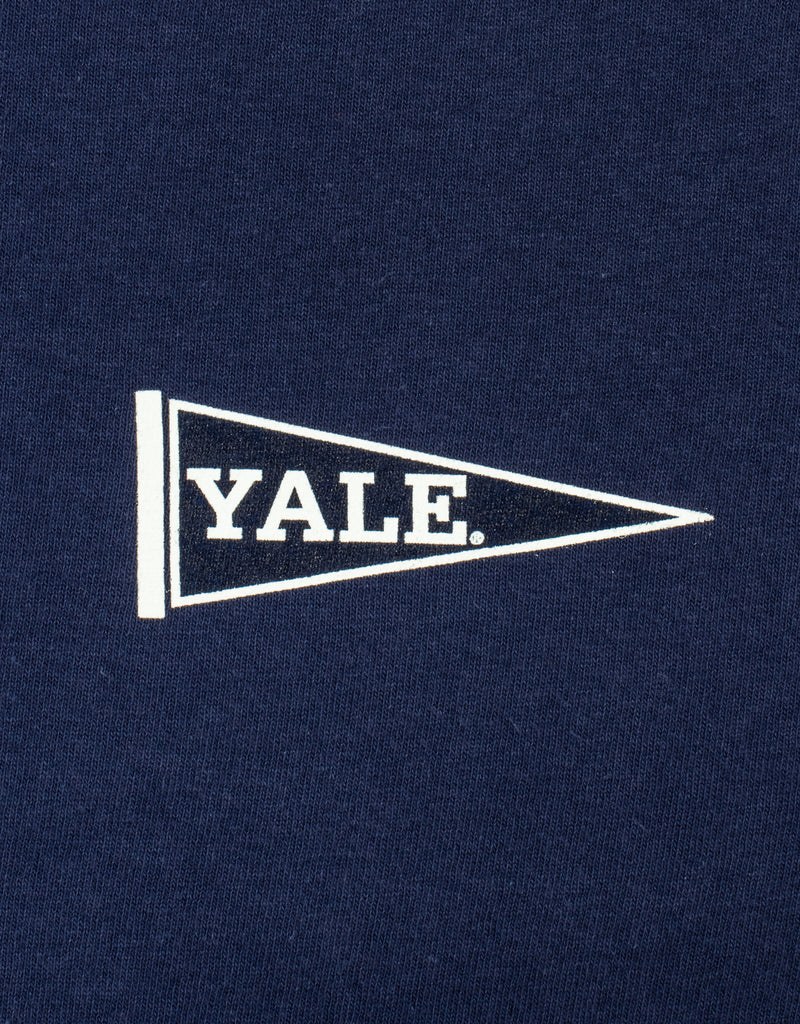 YALE SHORT SLEEVE T SHIRT - NAVY