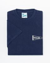 Yale Short Sleeve T Shirt Navy