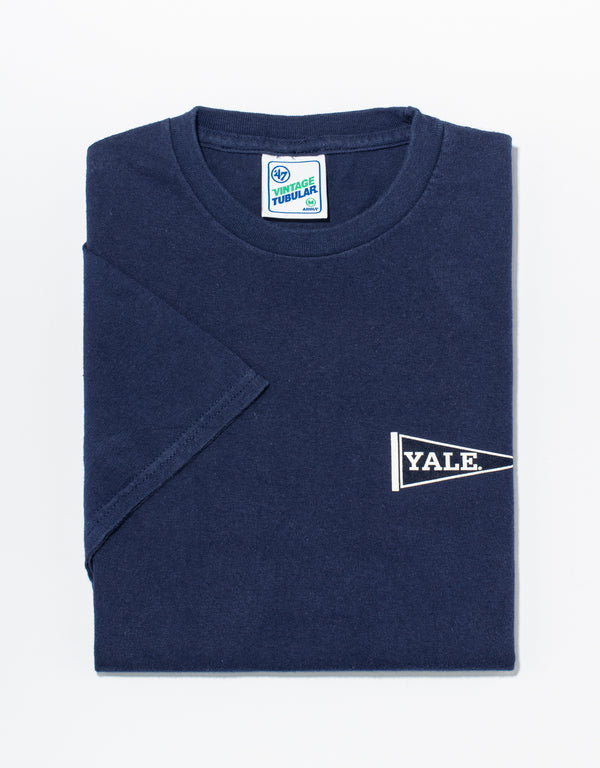 J. PRESS NAVY YALE T-SHIRT