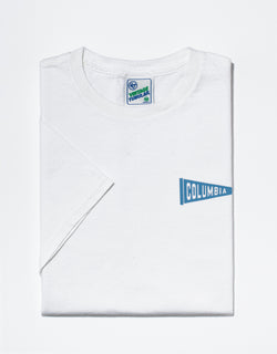 J. PRESS WHITE COLUMBIA T-SHIRT