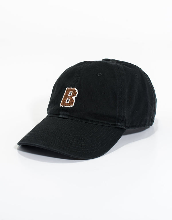 NEEDLEPOINT HAT-BROWN UNIVERSITY
