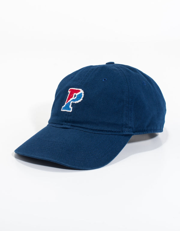 NEEDLEPOINT HAT-UNIVERSITY OF PENNSYLVANIA