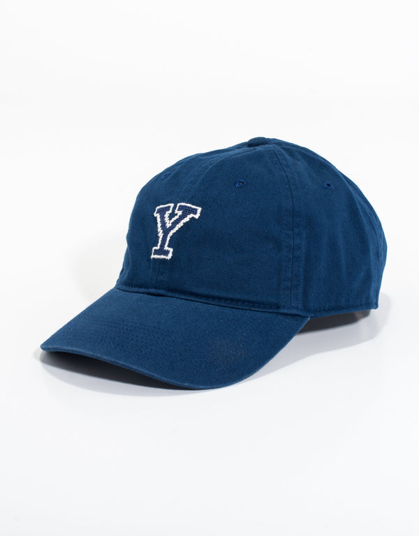 NEEDLEPOINT HAT-YALE UNIVERSITY