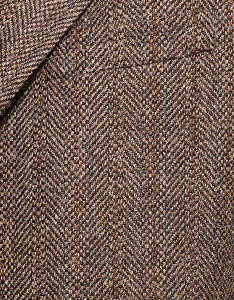 MAGEE BROWN BARLEYBONE STRIPE SPORT COAT - CLASSIC FIT