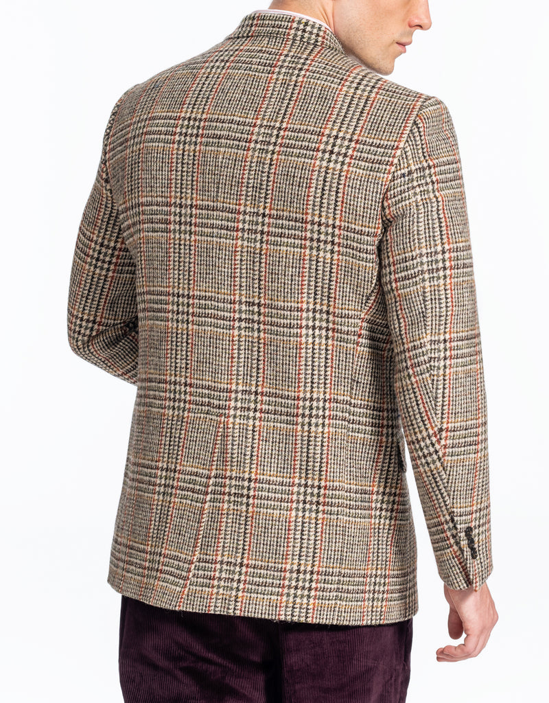 HARRIS TWEED MULTI PLAID SPORT COAT - CLASSIC FIT