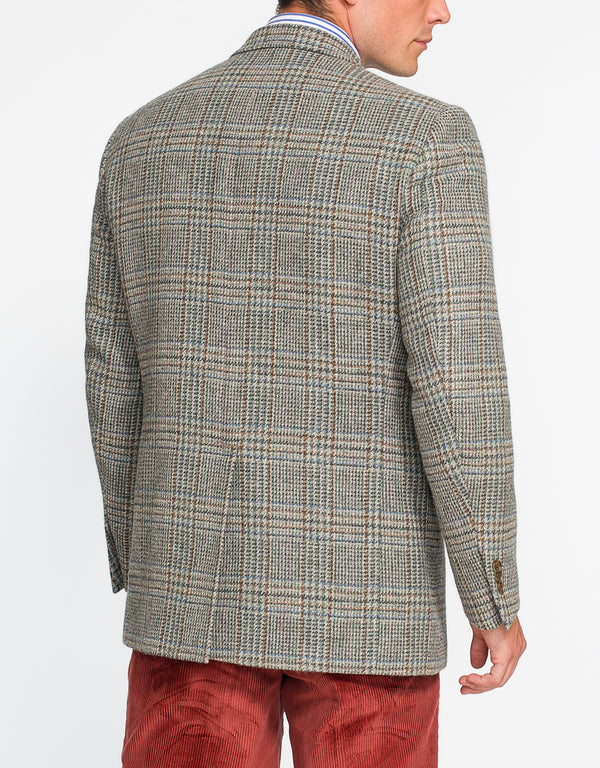 MAGEE LIGHT GREEN PLAID SPORT COAT - CLASSIC FIT