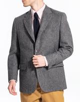 Magee Grey Barley Stripe Sport Coat Classic Fit