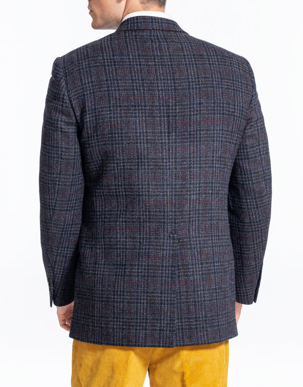 BLUE PLAID SPORTCOAT