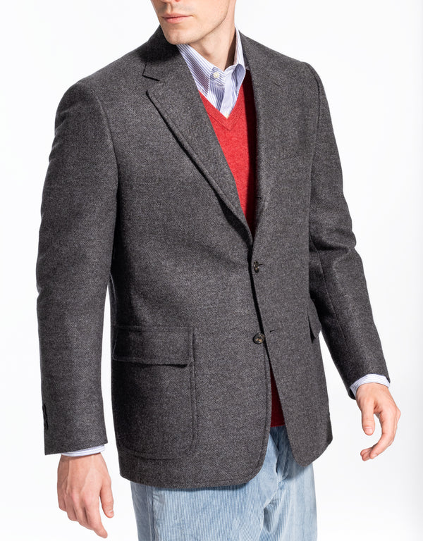 SOLID GREY TAILGATE SPORT COAT