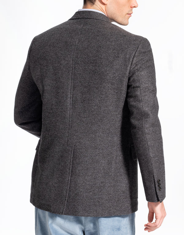 SOLID GREY TAILGATE SPORT COAT - CLASSIC FIT
