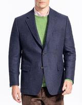 Solid Blue Tailgate Sport Coat Classic Fit