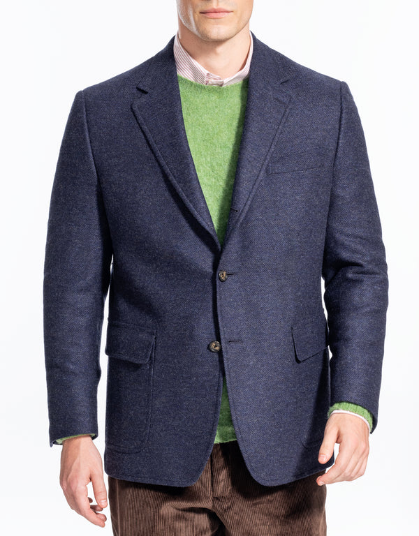 SOLID BLUE TAILGATE SPORT COAT - CLASSIC FIT