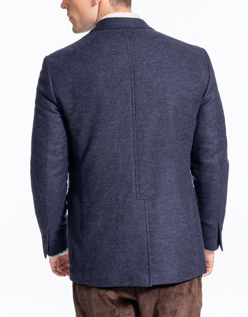 SOLID BLUE TAILGATE SPORT COAT