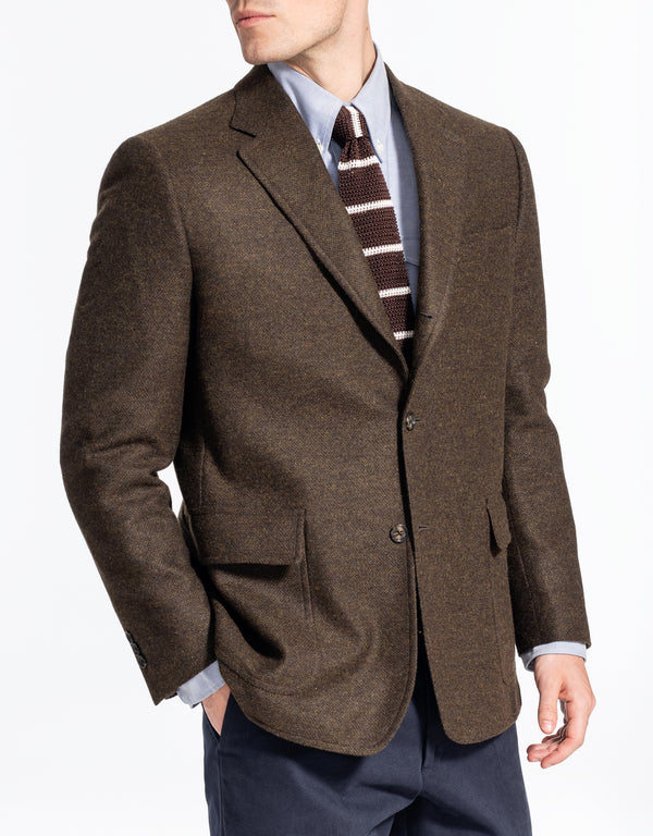 SOLID OLIVE TAILGATE SPORT COAT - CLASSIC FIT
