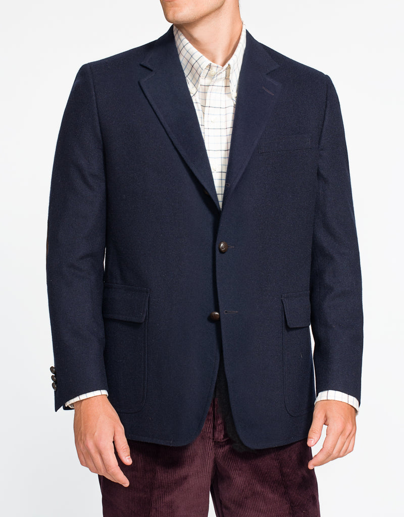 NAVY SOLID TAILGATE SPORT COAT - CLASSIC FIT