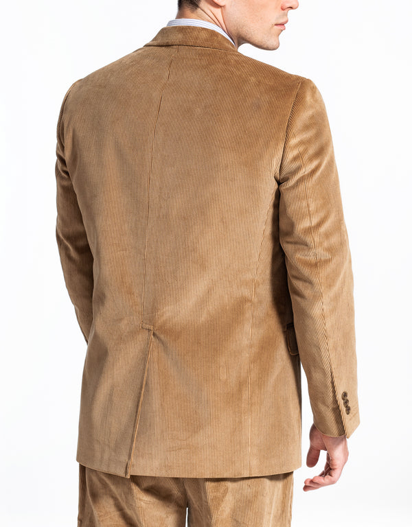 TAN CORDUROY SPORT COAT - CLASSIC FIT