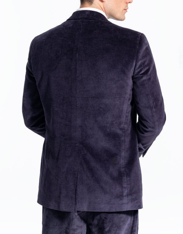 NAVY CORDUROY SPORT COAT - CLASSIC FIT