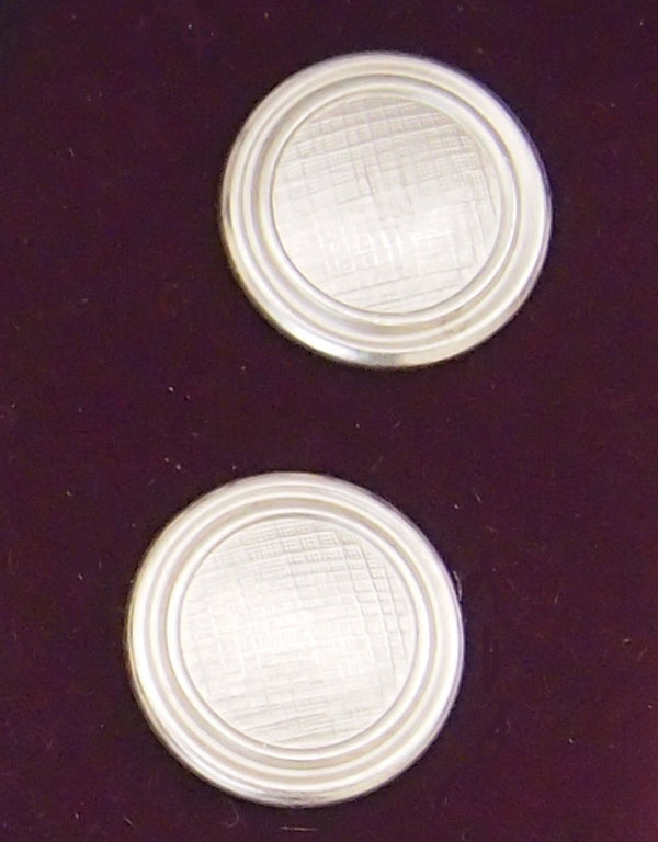 Silver Jacket Buttons