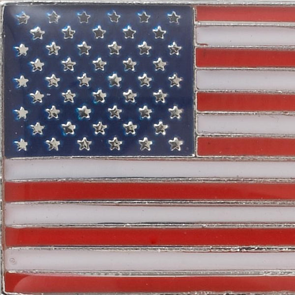 USA FLAG COLOR LAPEL PIN