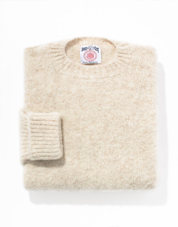 SHAGGY DOG SWEATER CLASSIC - IVORY