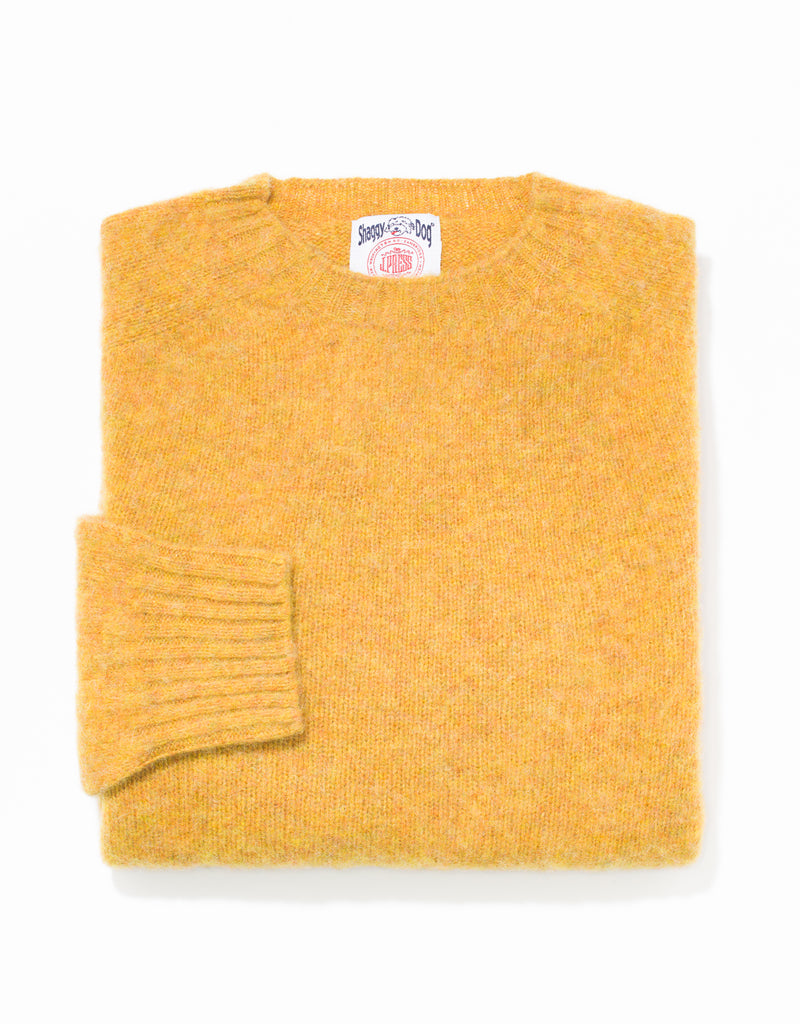 SHAGGY DOG SWEATER GOLD - TRIM FIT