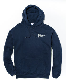 J. PRESS LONG SLEEVE GEORGETOWN UNIVERSITY HOODIE - NAVY