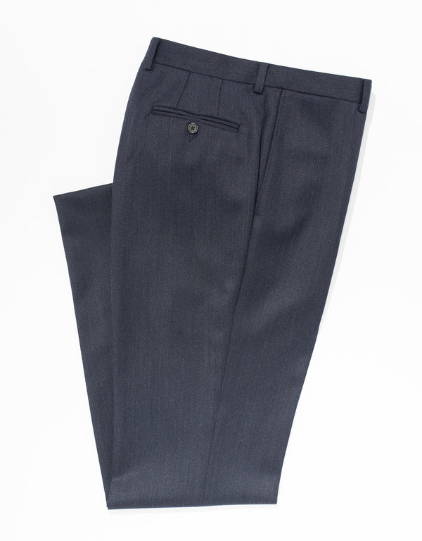 BLUE WHIPCORD TROUSERS