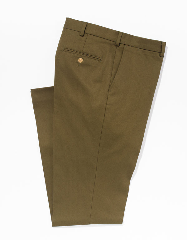 CAVALRY TWILL - OLIVE