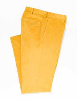 GOLD CORDUROY PANTS
