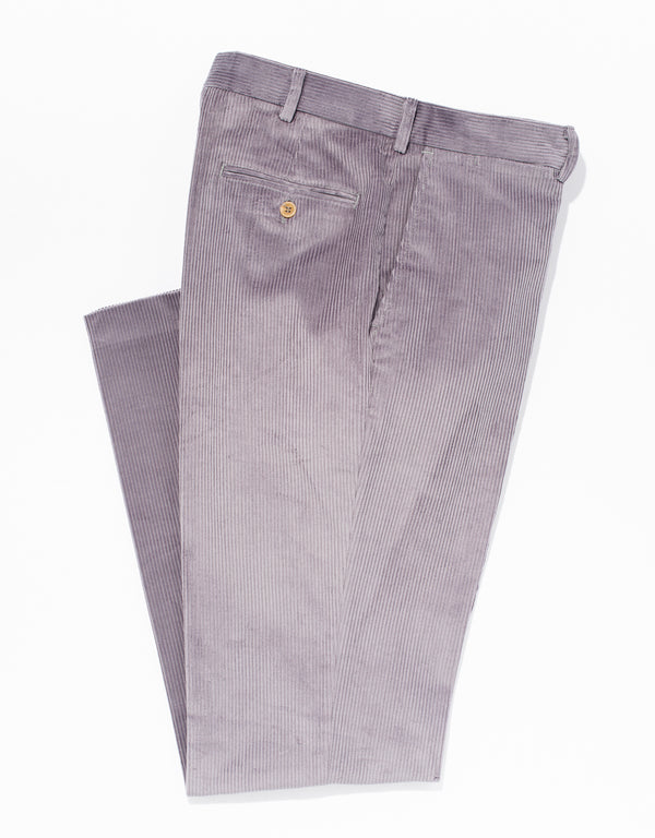 DRK GREY CORDUROY PANTS