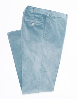 LIGHT BLUE CORDUROY PANTS
