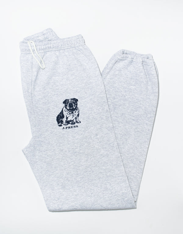 BULLDOG SWEATPANTS - GREY