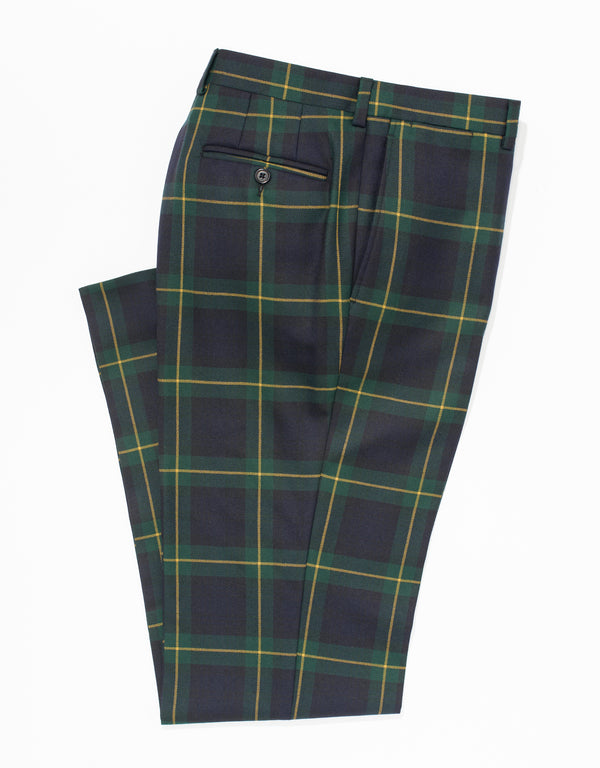 GORDON TARTAN TROUSERS