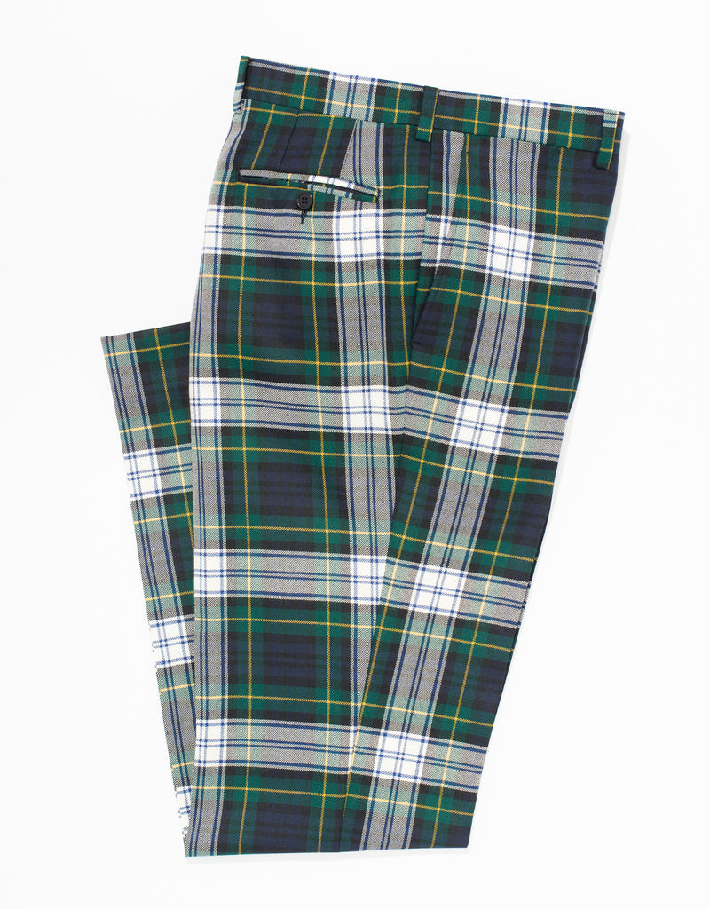 DRESS GORDON TARTAN TROUSERS - CLASSIC FIT