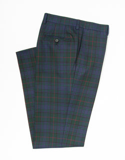 J. PRESS TARTAN TROUSERS - CLASSIC FIT