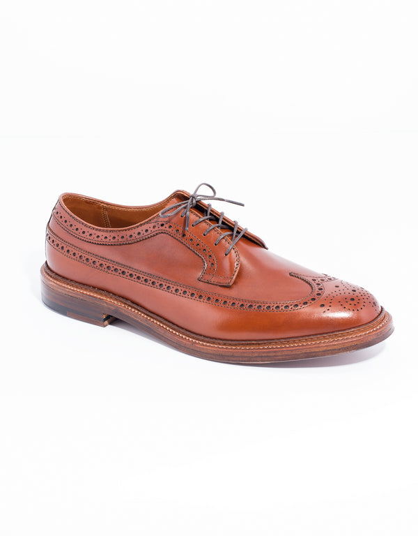 ALDEN LONG WING BLUTCHER CALFSKIN- BURNISHED TAN