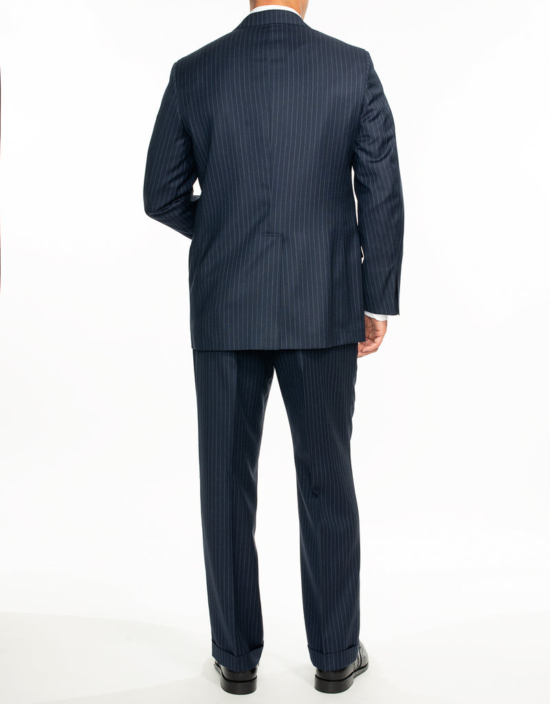 BLUE STRIPE SUIT - CLASSIC FIT