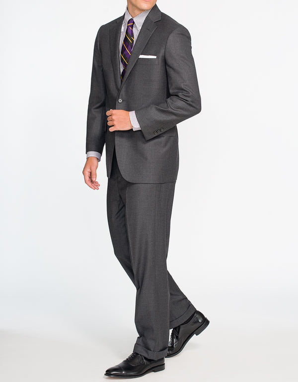 GREY NAILHEAD SUIT - CLASSIC FIT